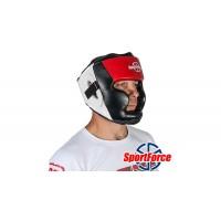 Шлем для бокса SportForce (кожзам) SF-HG02