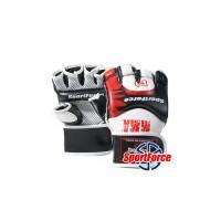 Перчатки MMA SportForce с защитой для большого пальца SF-MG02