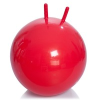 Гимнастический мяч с рожками 55 см М-355