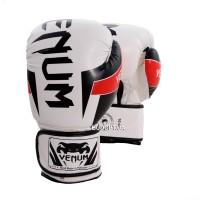Тренировочные боксерские перчатки Venum FLEX BO-5338-BKW(10), 10OZ