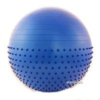 Мяч (фитбол) для фитнеса полумассажный 2 в 1 65см FI-4437-65
