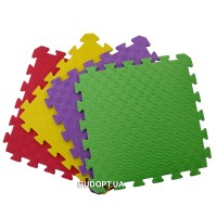 Детский игровой коврик-пазл (мат татами, ласточкин хвост) Isolon 10мм