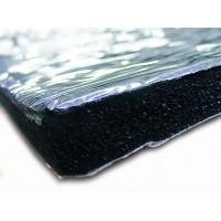 Шумоизоляция фольгированная из вспененного каучука 6мм с липким слоем