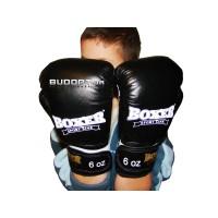 Детские боксерские перчатки Boxer 6 унций, кожа