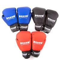 Перчатки боксерские Boxer 10 унций, кожвинил