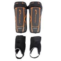Щитки Футбольные (защита ног для футбола) Spokey Crust, размер M