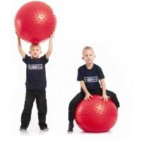 Мяч для фитнеса (фитбол) ZEL массажный 55см