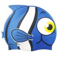 Шапочка для купания детская Spokey Rybka, синяя