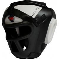 Боксерский шлем тренировочный RDX Guard White