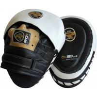 Лапы боксерские RDX Gel Focus Black