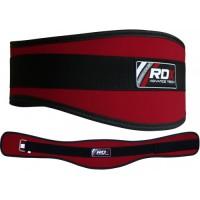 Пояс для тяжелой атлетики RDX Red