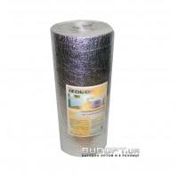 Фольгированный утеплитель, теплоотражающий экран за радиатор отопления (батарею) 50см х 5м х 5мм