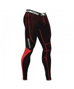 Компрессионные штаны Bad Boy Leggings Black/Red