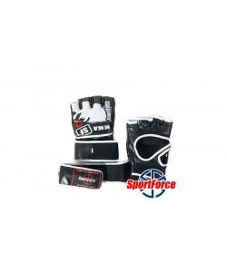 Перчатки для MMA, тренировок, кожвинил SportForce SF-MG01