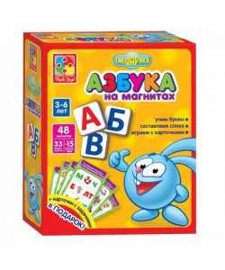 Игра настольная Азбука. Смешарики VT1502-06