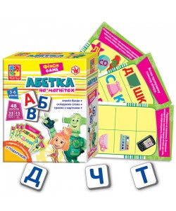 Игра настольная Азбука. Фиксики VT1502-08