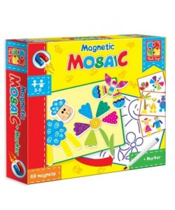 Игра настольная Магнитная Мозаика VT3701-01