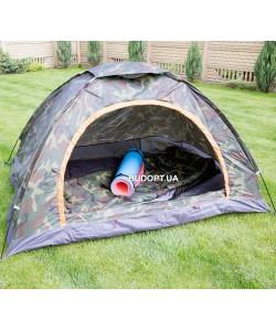 Палатка туристическая 2-х местная SY-002 хаки