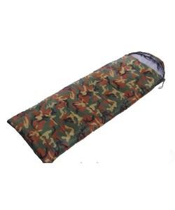 Спальный мешок одеяло с капюшоном Кокон SY-4051 камуфляж