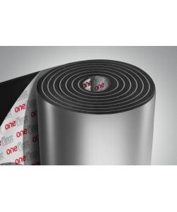 Вспененный каучук фольгированный 13мм с липким слоем