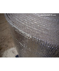Фольгированный химически сшитый пенополиэтилен 10мм ( ППЭ НХ + фольга)