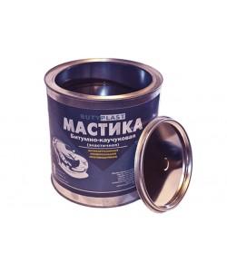 Мастика для авто битумно каучуковая Butyplast 3 кг (противошумная, антикоррозионная для днища)