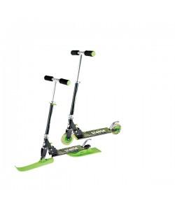 Самокат-скутер детский 2 в 1 (Зимний и Летний)