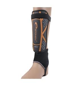Щитки Футбольные (защита ног для футбола) Spokey Crust, размер L