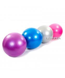 Мяч для фитнеса (фитбол) ZEL гладкий сатин 65см