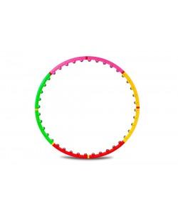 Обруч массажный Hop-Sport 40 шариков (хулахуп)