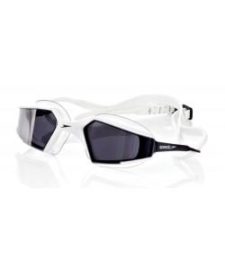 Очки для плавания Speedo Aquapulse MAX Mirror, бело-серый