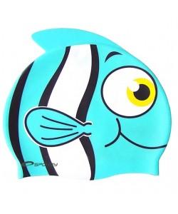 Шапочка для купания детская Spokey Rybka, голубая