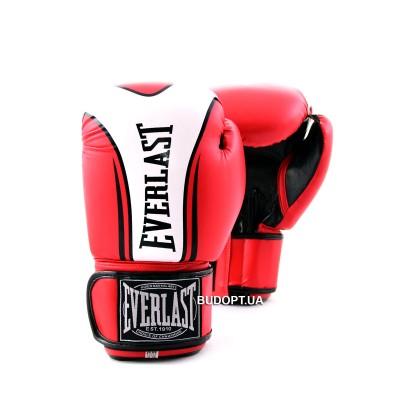 Перчатки боксерские PU Everlast BO-0225 FIGHT-STAR
