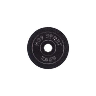Диск чугунный Hop-Sport Strong 2,5 кг