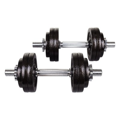 Гантели металлические Hop-Sport STRONG 2x15 кг