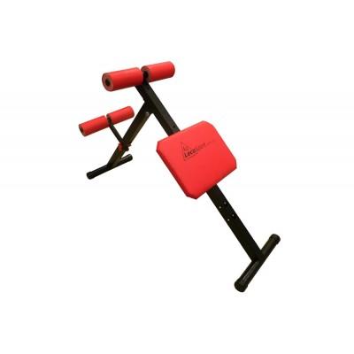 Скамья универсальная LecoSport для мышц спины и пресса СТАНДАРТ Ls4010