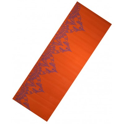 Коврик для йоги LiveUp PVC YOGA MAT WITH PRINT