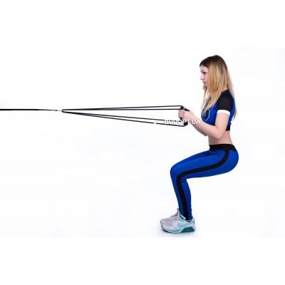 Резиновый эспандер Лыжник-боксер жесткость № 1
