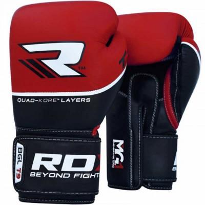 Боксерские перчатки RDX Quad Kore Red