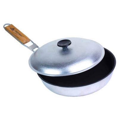 Сковорода походная с антипригарным покрытием и ручкой Тime Eco БЛС24