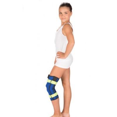 Бандаж на коленный сустав с металлическими шарнирами детский Т-8532