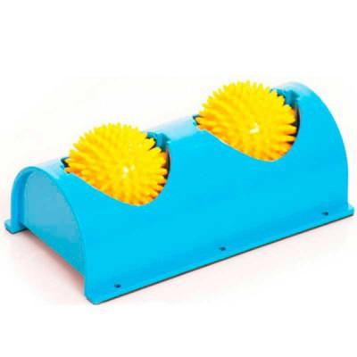Мячи игольчатые на подставке для ног M-404