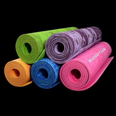 Коврик для йоги и фитнеса Virasana PER 8мм