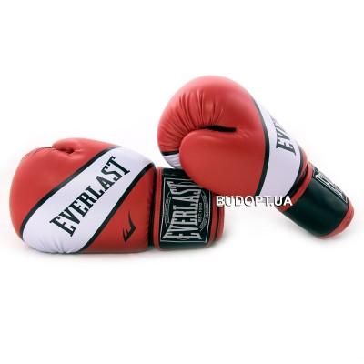 Перчатки боксерские для бокса PU Everlast BO-0221 SUPER-STAR (10, 12 унций)