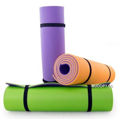 Коврик (каремат) для йоги, фитнеса и спорта Вердани Спорт