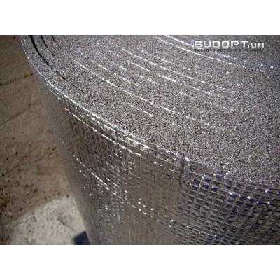 Фольгированный химически сшитый пенополиэтилен 12мм ( ППЭ НХ + фольга)