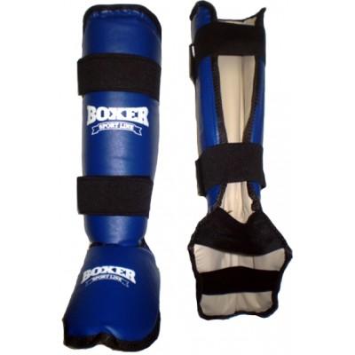 Защита голени и стопы XL Boxer (кожвинил)