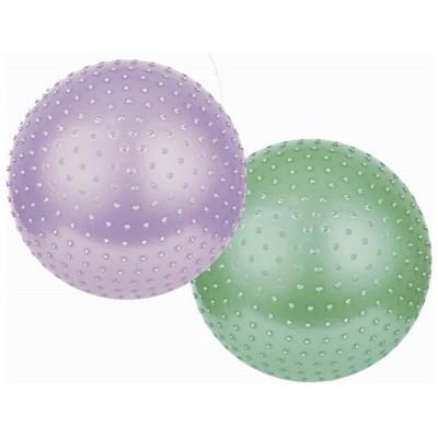 Гимнастический фитбол-мяч массажный Spokey 75см+насос