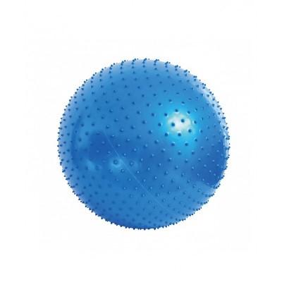 Мяч для фитнеса (фитбол) массажный Profi 65 см с ABS