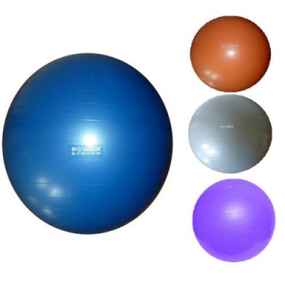 Мяч для фитнеса (фитбол) POWER SYSTEM 85см